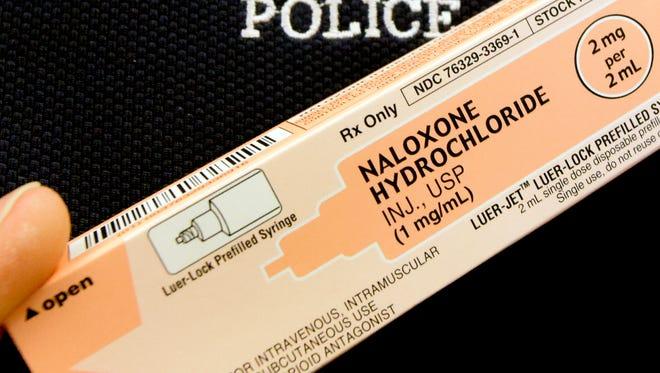 LOGO NARCAN NALOXONE YORK CITY POLICE