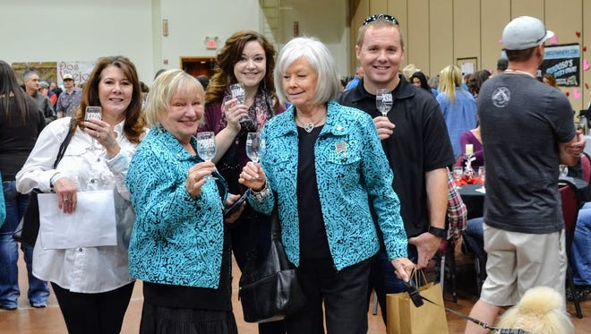 Cheers to Ruidoso's first annual Vines in the Pines Wine Festival at Ruidoso Convention Center February 11 and 12.