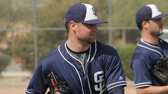 Fletcher's Logan Allen is a pitcher in the San Diego