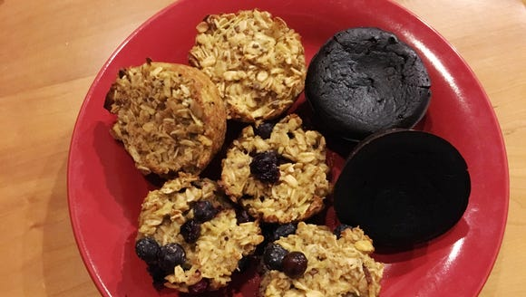 "Try these ""muffins"" for a quick, tasty breakfast."