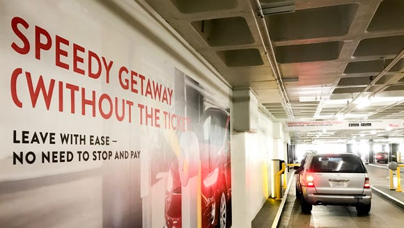 Westfield Century City mall's new Smart Parking system