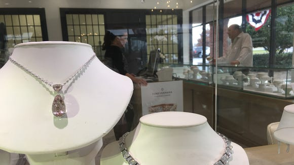Marquirette's Exquisite Jewelry recently opened inside a renovated space in the Peppertree Shopping Center.