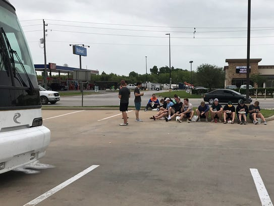 The Mudbugs stopped at Buc-ee's on the way to Corpus