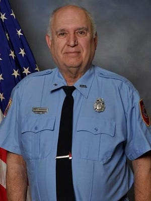 Earl J. Shoemaker, 68, a volunteer Hanover Fire Department firefighter that died Saturday March 12, 2016 while driving Hanover's Air 46 mobile air supply unit to the scene of a house fire in West Manheim Township. Shoemaker had served for more than 40 years as a volunteer with Eagle Fire Company #2 in Hanover.