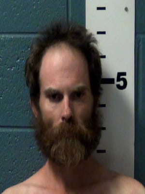 Jerome Shoberg, 36, is charged with animal cruelty in the death of a puppy in Las Cruces on Saturday, June 4, 2016.