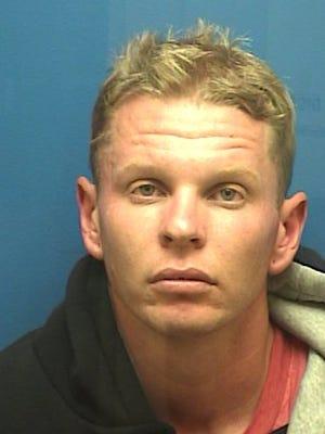 Michael Wear, a Santa Paula suspect arrested on an outstanding felony warrant.