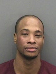 Keon Broxton was arrested early Friday in Florida.
