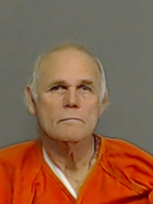 Gary Ray Wright was booked on a charge of attempted capital murder of a peace officer or fireman.