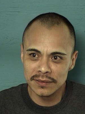 A mug shot of Jose Anthony Rodriquez, a Reno man who is in custody for a stabbing in California when a body of a 29-year old Reno woman was found in his car.