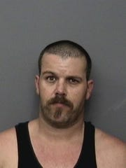 Joshua Raymond Sampley Date of birth: July 14, 1976 Vitals: 5 feet, 8 inches; 200 pounds; brown hair, hazel eyes Charge: Receiving known stolen property