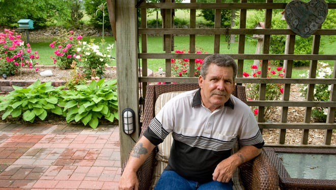 Former POW James Pfister of Carmi, Ill., spent nearly five years in a North Vietnamese prison camp after his helicopter was shot down. Pfister, a native of Evansville, Ind., returned home in 1973.