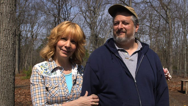 Robin and Jack Muchnick on the couple's Sweet Dream Farm in Jackson.