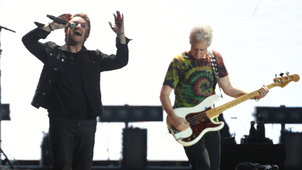 U2 at Bonnaroo: Thank you for naming it after me, Bono says
