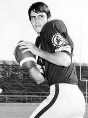 Danny White during his days playing for ASU