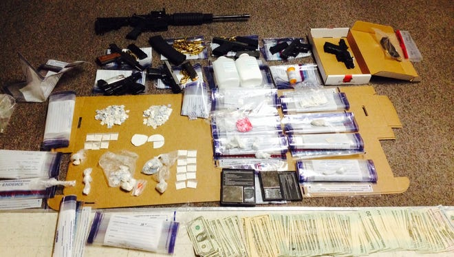 Items located by Lee deputies at 2249 River Ridge Boulevard in Fort Myers.