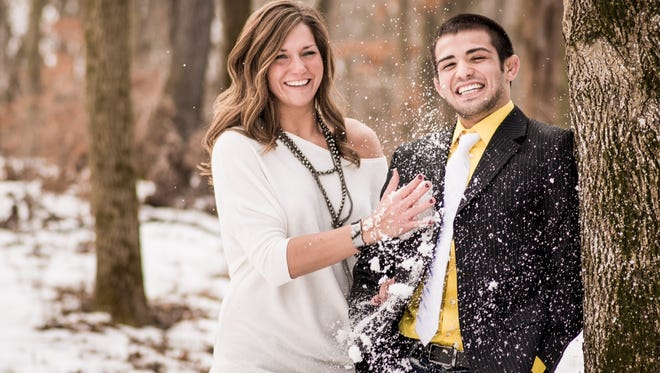 Tony Ramos and Megan Eskew will get married Saturday, July 19, 2014. Photo by Michael Kreiser Photography.