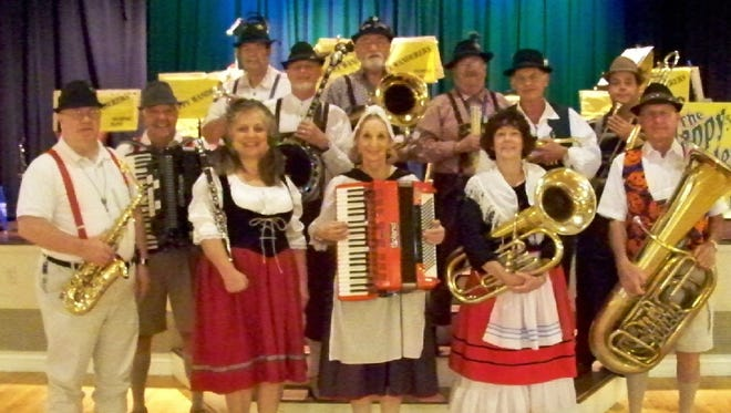 The Happy Wanderers Oompah Band will perform at the Rusty Rudder in Dewey Beach from 2 to 5 p.m. Saturday, Oct. 22 as part of the restaurant's Oktoberfest celebration. Admission is free.