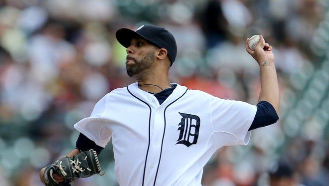 The Detroit Tigers' David Price.