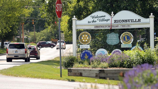 Zionsville is the richest town in Indiana.