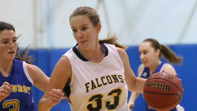 Saddle Brook senior center Brianna Brooks is having a big season so far, averaging 15.9 points and 14.3 rebounds per game.