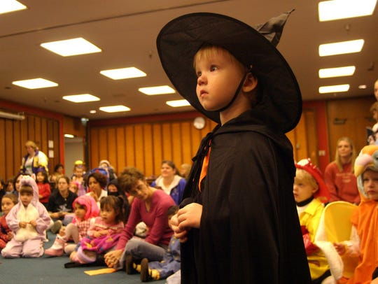 A special Halloween-themed story time at Salem Public