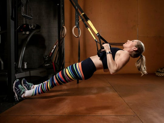 During her training season, slalom sensation Mikaela