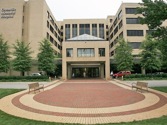 Greenville Memorial Hospital in Greenville, South Carolina