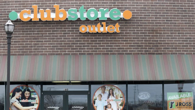 Clubstore Outlet had been in Fox Point Plaza in Neenah.