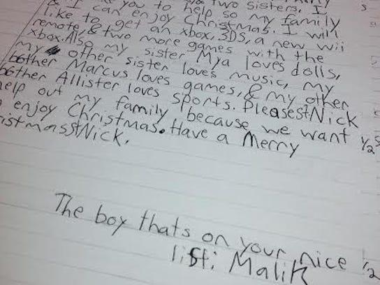 Letter to Santa 2