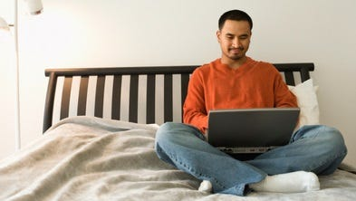 Telecommuting offers benefits to both the employer and the employee.