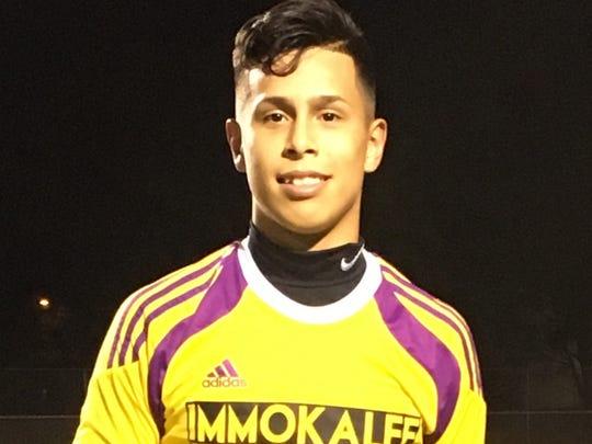 Carlos Contreras, Immokalee High School boys soccer