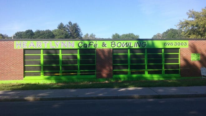 """Tthe former """"Corona Club"""" bowling alley - now to reopen under new ownership, called """"HEARTLYNN Café & Bowling Alley"""""""