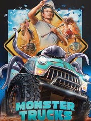 """The poster for """"Monster Trucks."""""""