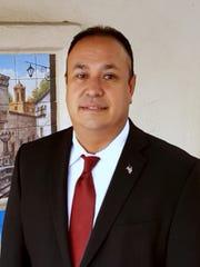 David Granado, owner of DA Defense Logistics HQ, and the SBA El Paso Small Business Contractor of the Year.