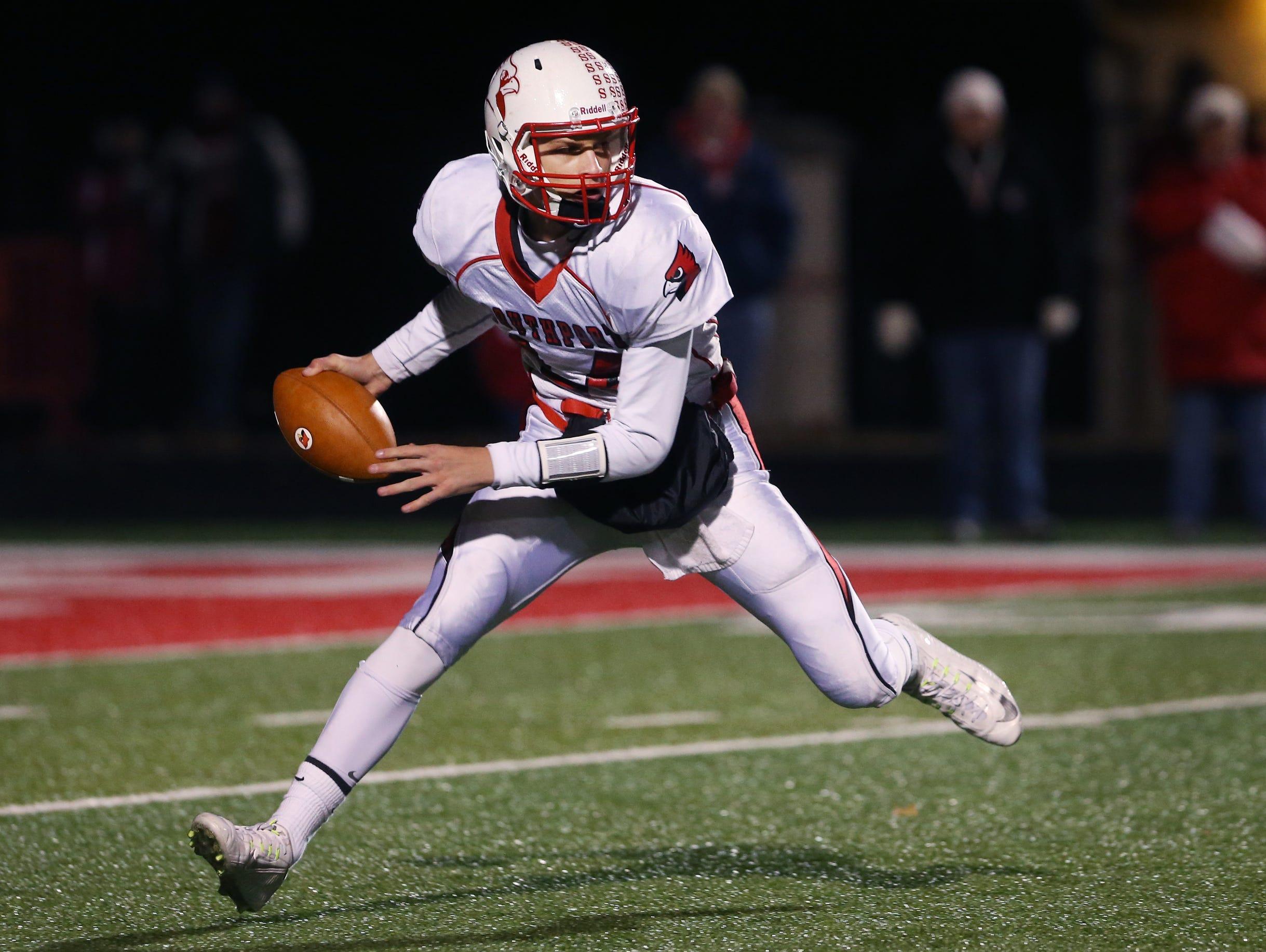 Southport quarterback Luke Johnston.
