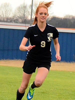 Station Camp High junior Megan Brinkley is the Sumner County Co-Offensive Player of the Year.