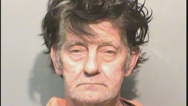 Larry Gowin is being held in the Polk County Jail.