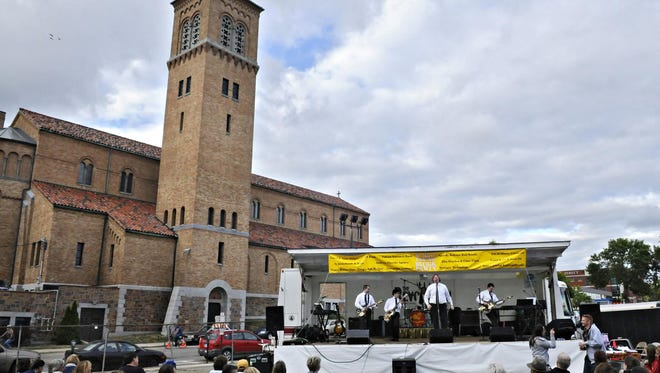 St. Mary's Cathedral Block Party has been a staple of downtown entertainment for 15 years.