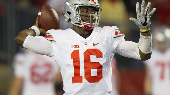 Ohio State quarterback and Rider grad J.T. Barrett has a chance to lead the Buckeyes back to the College Football Playoffs.