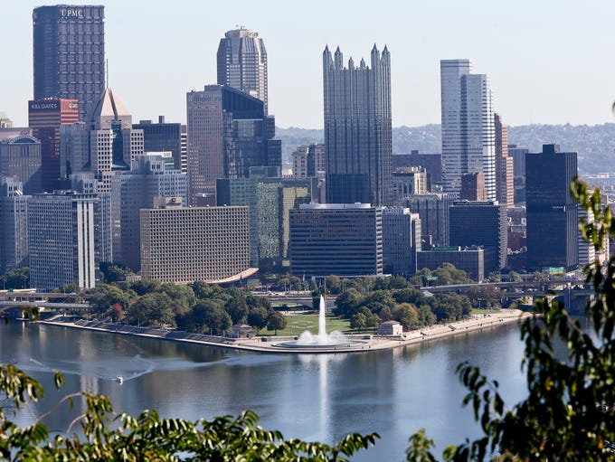 1. Pittsburgh. Pittsburgh ranked first on the list