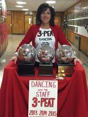 Delsea Regional High School staff member Sue Coppola