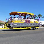 Decorated classic cars were a popular category in the 2015 London Bridge Days Parade in Lake Havasu City.