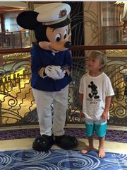 Meeting Captain Mickey