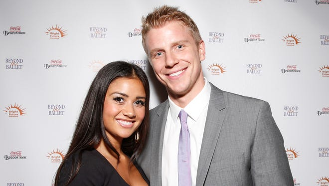 Catherine Guildici and Sean Lowe.