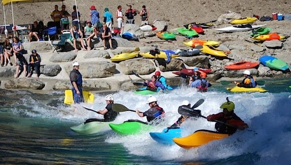 The Hawea Surf Park is a natural-river type surf park,