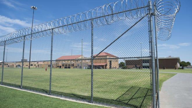 A federal prison in El Reno, Okla.