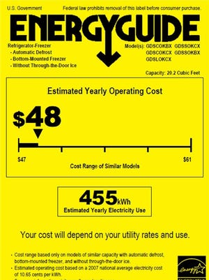In the market for a new appliance? Look for the ENERGY STAR® EnergyGuide label to gauge your energy costs and possible savings.