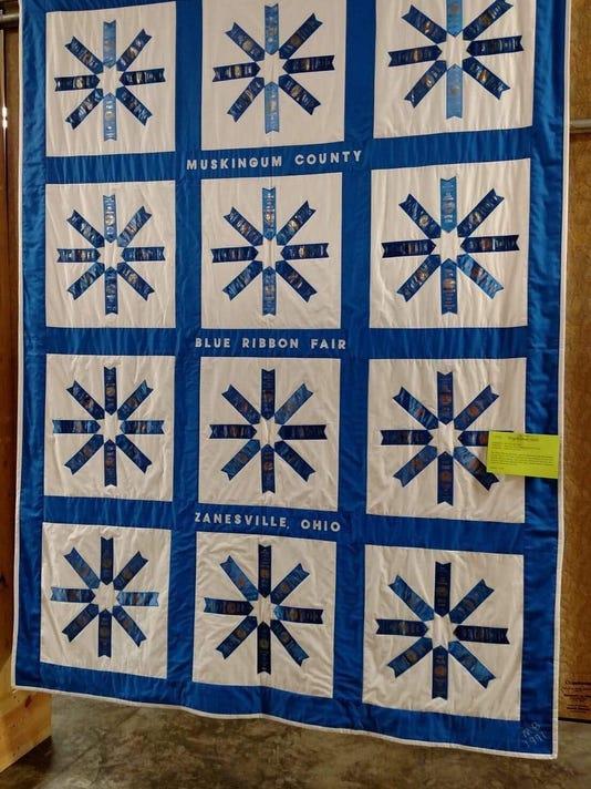 Blue Ribbon Quilt
