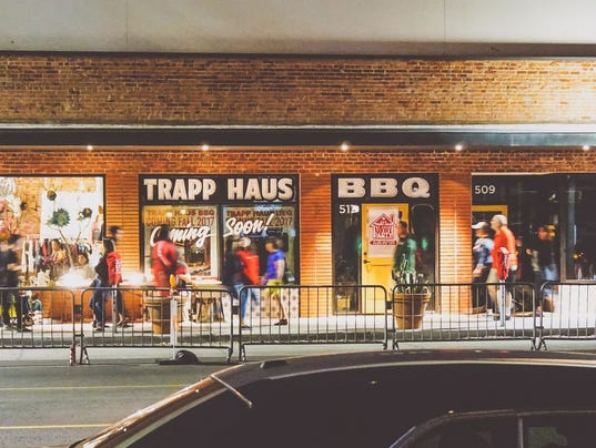 trapp haus bbq restaurant is now open in downtown phoenix. Black Bedroom Furniture Sets. Home Design Ideas