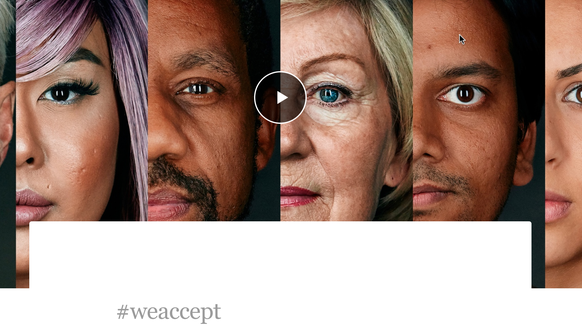 Airbnb's #weaccept campaign